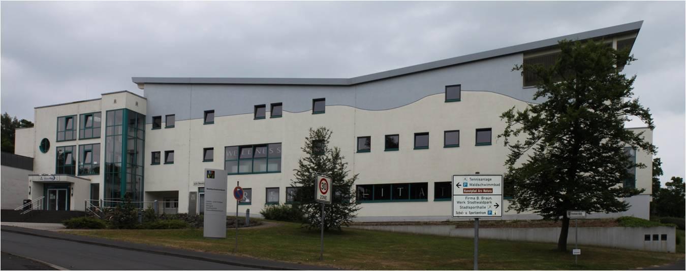 Biomasse-, Wärmeliefer- und Einsparcontracting Hallen- und Freibad in Melsungen